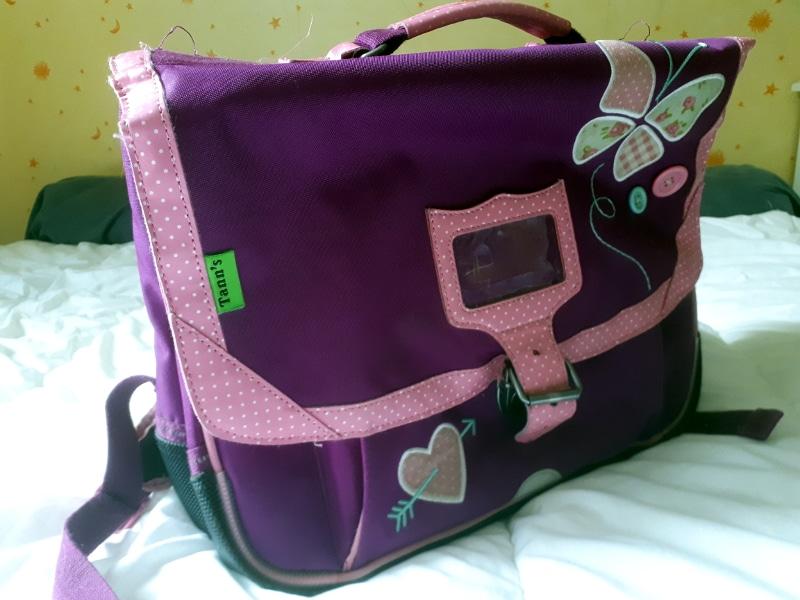 cartable de la marque Tann's violet