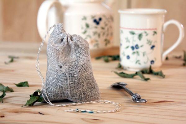 filtre à thé lavable zéro déchet