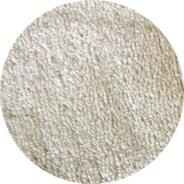 essuie tout lavable en coton bio couleur blanc cassé