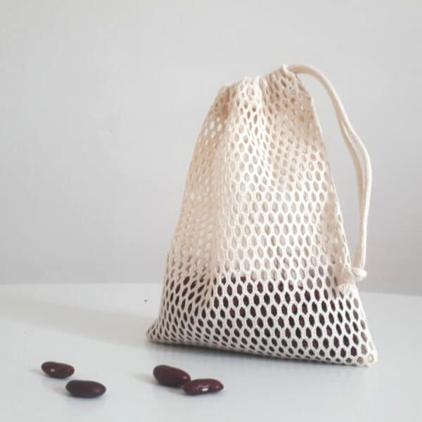 sac à vrac en filet de coton